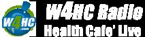 W4HC Radio Logo - Health Cafe' Live - #1 Ranked Health & Wellness Online Talk Radio Station